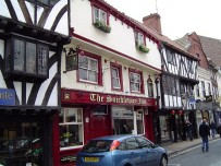 Goodramgate shops, in the medieval section of York