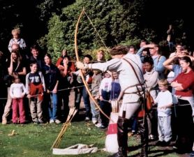 Deadly skills at Warwick Castle
