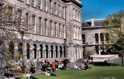 Trinity College Library, Dublin, Home of the Book of Kells