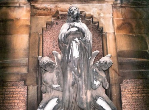 Madonna in the Glasgow Necropolis