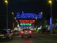 Blackpool Illuminations along the Promenade