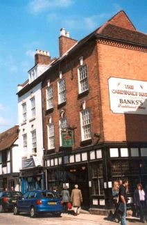 Cardinal's Hat, Friar Street, Worcester 2003